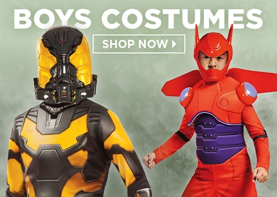 Halloween Boy's Scary Costumes