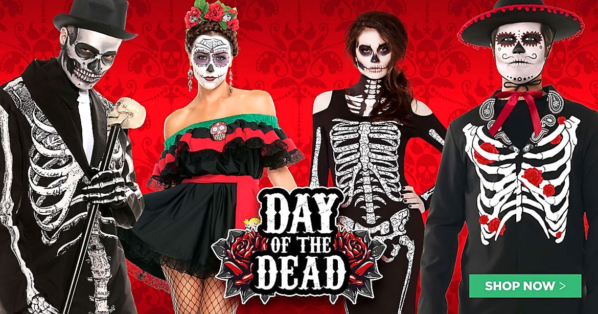 Scary Costumes (Day of The Dead)