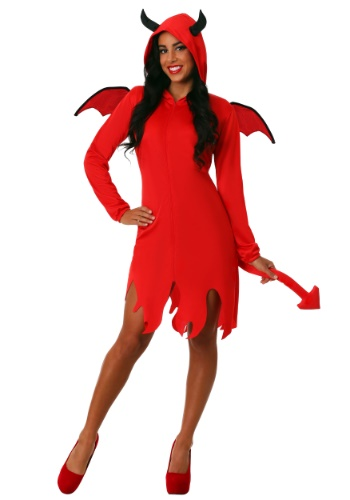 Adult Cute Devil Costume for Women