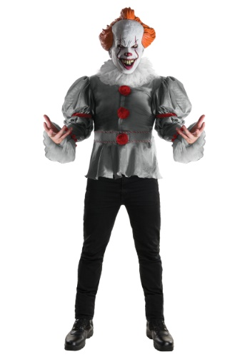 Adult Deluxe IT Pennywise Movie Costume