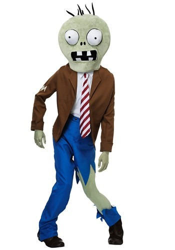 Adult PLANTS VS ZOMBIES Zombie Costume