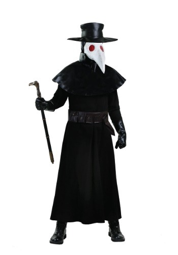 Adult Plus Size Plague Doctor Costume