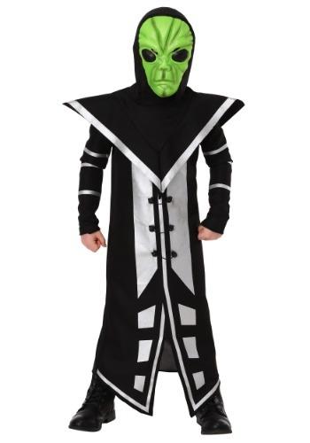 Alien Assassin Boy's Costume