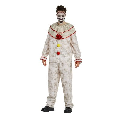 American Horror Story Deluxe Twisty the Clown Adult Mens Costume