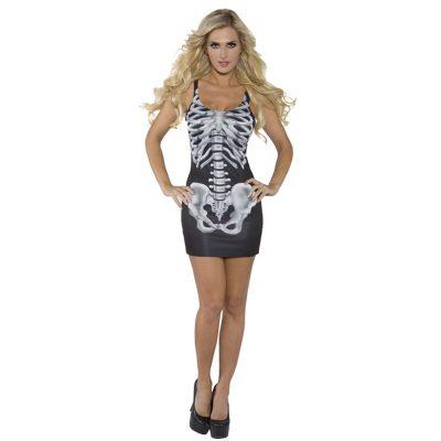 Bones Adult Costume