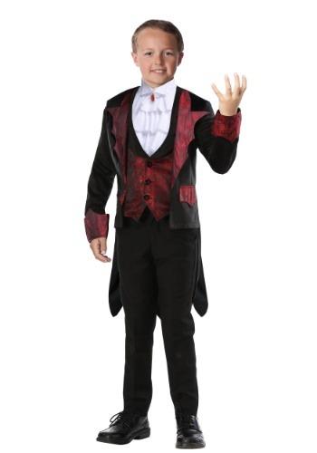 Boys Dashing Vampire Costume