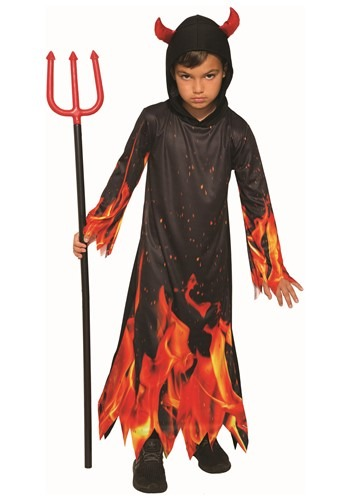Boys Fiery Devil Costume