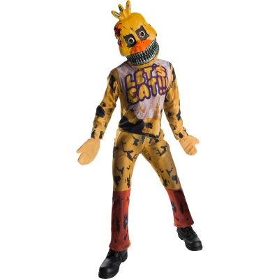 Boys Five Nights At Freddy's Nightmare Chica The Chicken Costume