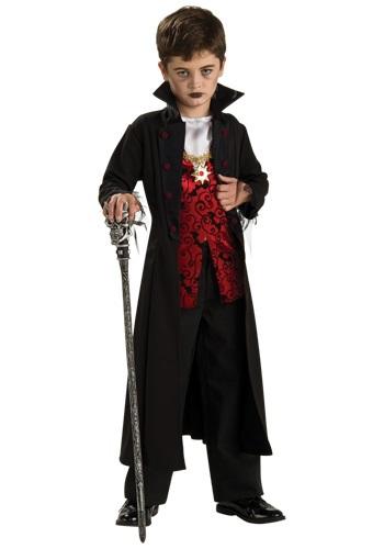 Boys Royal Vampire Costume