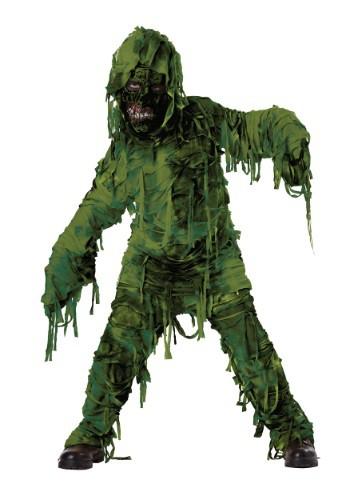 Boys Swamp Monster Costume