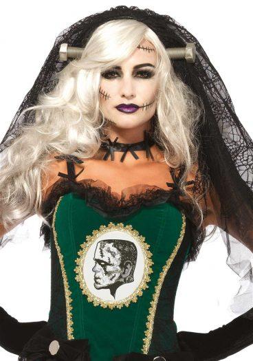 Bride of Frankenstein Lace Veil