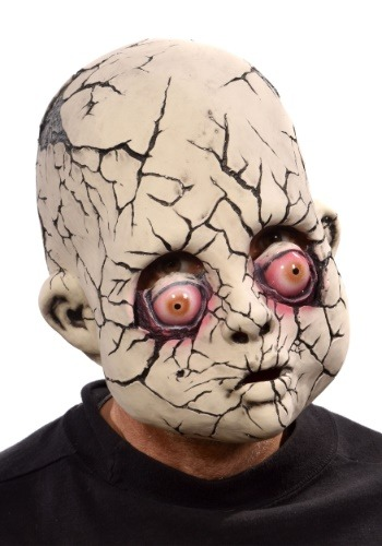 Broken Baby Doll Adult Mask