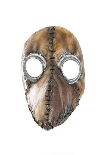 Brown Plague Doctor Mask