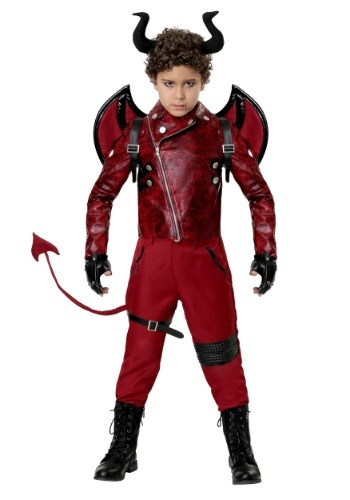 Child Dangerous Devil Costume