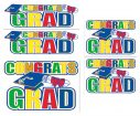 Congrats Grad Auto-Clings