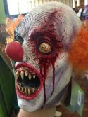 Creepy Clown Latex Mask