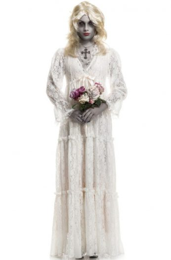 Dead Ghost Lost Soul Gown Adult Costume