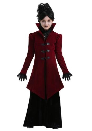 Delightfully Dreadful Vampiress Girls Costume