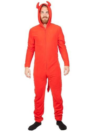 Devil Red Union Costume Suit