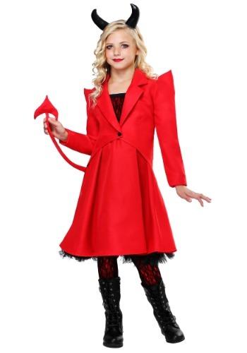 Devilish Diva Girls Costume