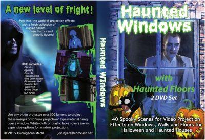 Dvd Combo Haunted Window Floor