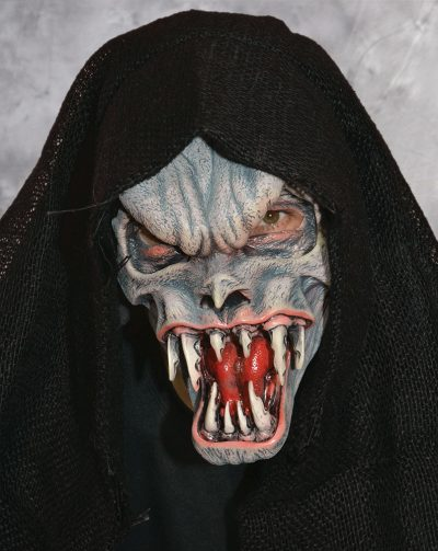 Fanged Death Hooded Monster Mask
