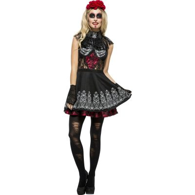 Fever Day of the Dead Women's Costume