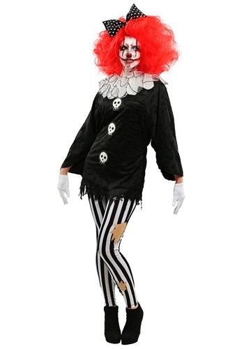 Frightful Clown Women's Costume