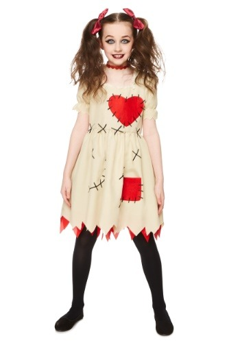 Girl's Voodoo Doll Costume
