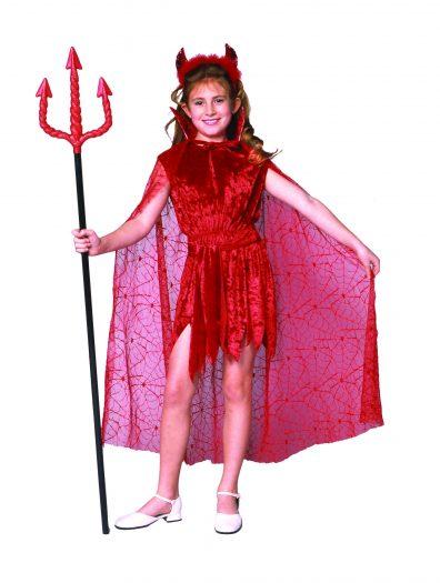 Glamour Devil Cape Costume