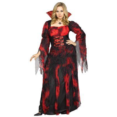 Gothic Countessa Adult Womens Plus Size Costume