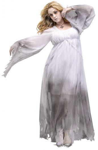 Gothic Ghost Plus Costume
