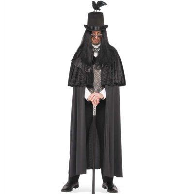 Gothic Night Stalker Adult Mens Costume