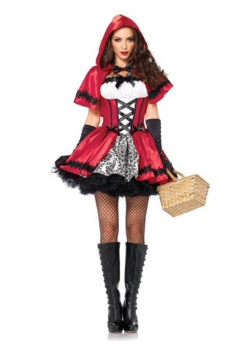 Gothic Red Riding Hood peasant Costume