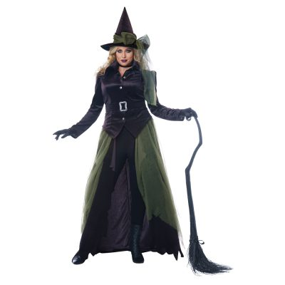 Gothic Witch Adult Womens Plus Size Costume