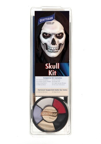 Graftobian Deluxe Skull Makeup Kit