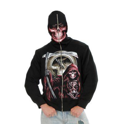 Grim Reaper Adult Mens Hoodie
