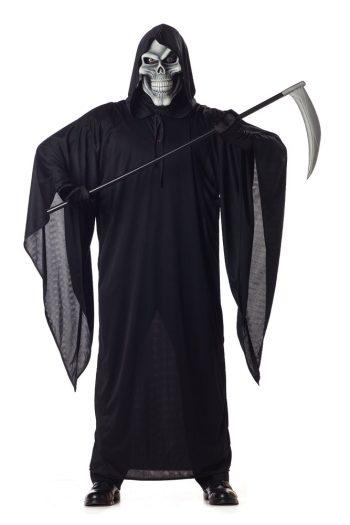 Grim Reaper Adult Mens Plus Size Costume