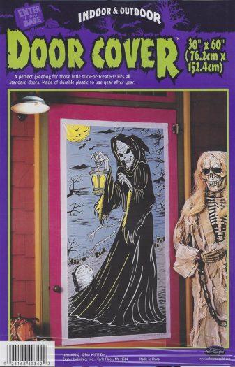 Grim Reaper Door Cover Decoration