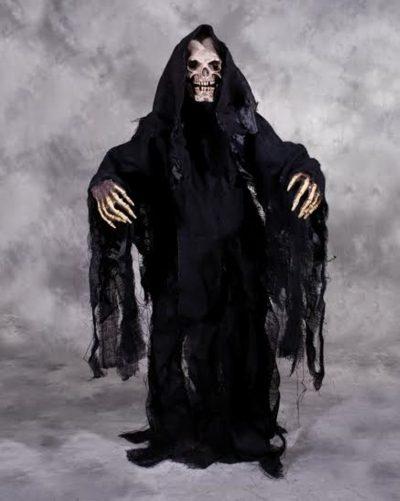 Grim Reaper, Gown, Hands