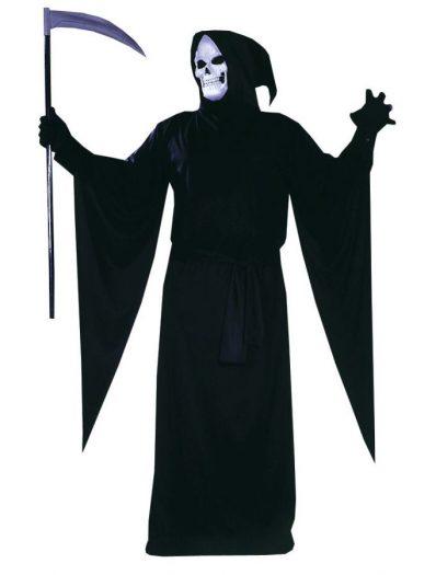 Grim Reaper Hooded Robe Costume