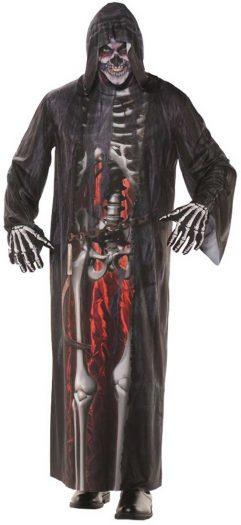Grim Reaper Photo Real Adult Robe