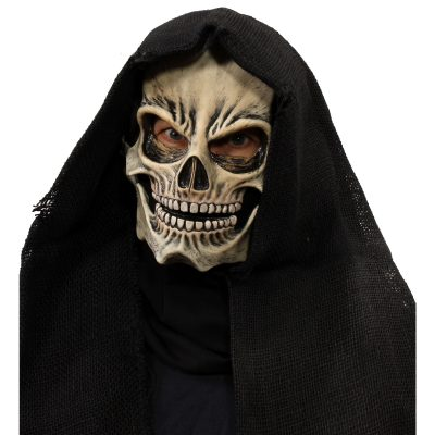 Grim Skull Overhead Moving Mouth Mask