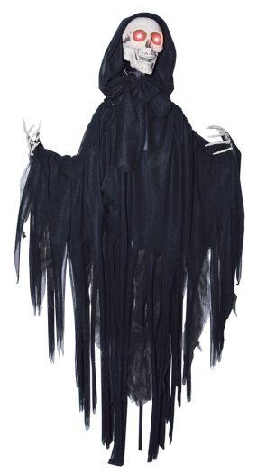 Head Dropping Black Grim Reaper Prop