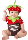 Infant Chocolate Strawberry Costume
