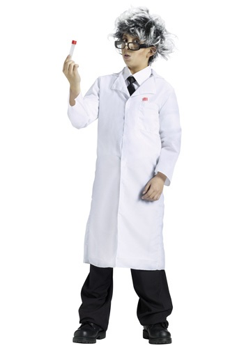 Kids Lab Coat Costume