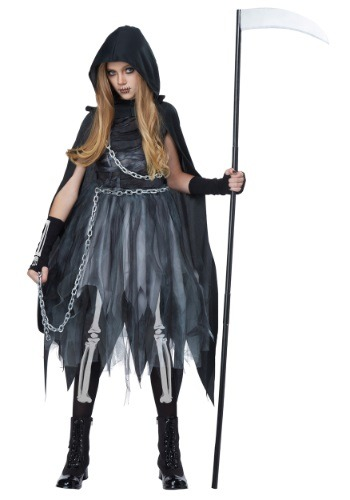 Kids Reaper Girl Costume