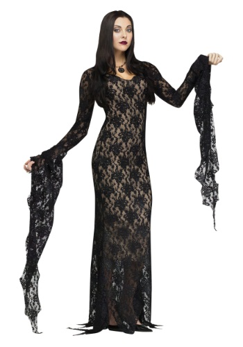 Lace Miss Darkness Adult Costume