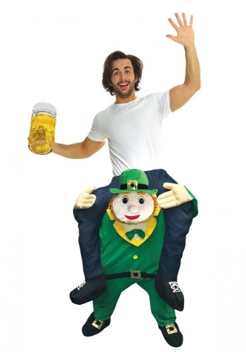 Leprechaun Piggyback Adult Costume