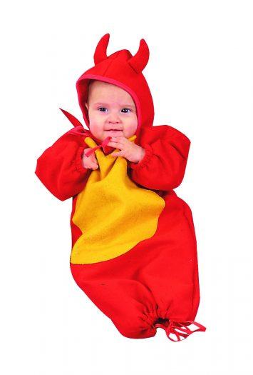 Lil Devil New Born Bunting Costume